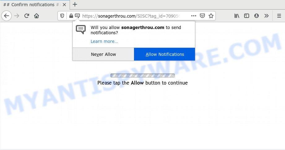 Sonagerthrou.com