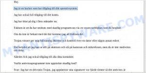 1HNgUZYTJUoxteqG7eb8NEYZ396CCBGurw Bitcoin Email Scam