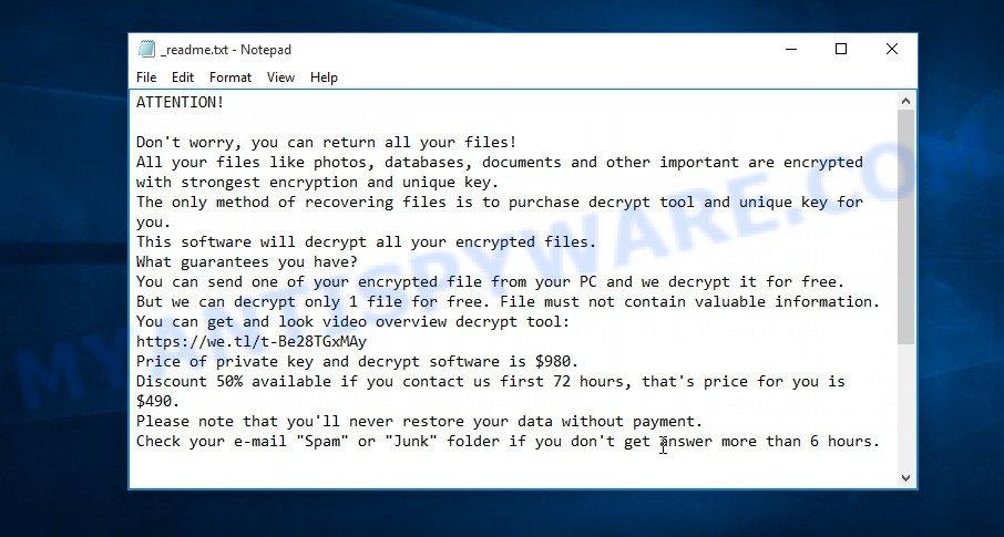 Mkos ransom note