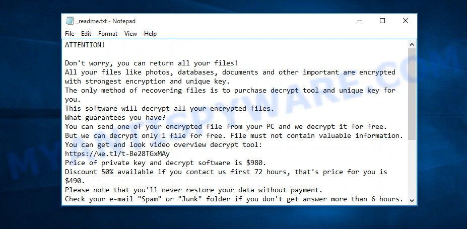 Piny ransom note