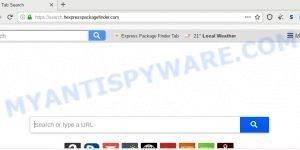 Search.hexpresspackagefinder.com