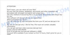helprestore@firemail.cc ransomware