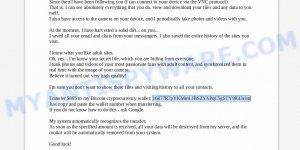 16877R7pYKMmLJBSZYAPqC5gSTY9R43zim Bitcoin Email Scam