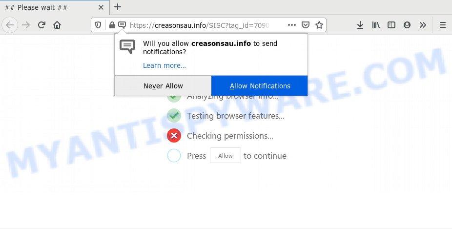 Creasonsau.info