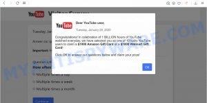 Dear YouTube user