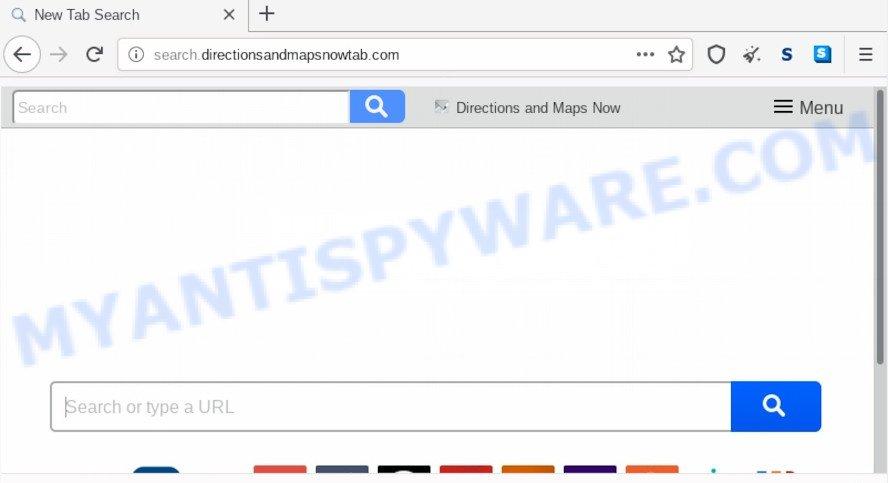 Search.directionsandmapsnowtab.com