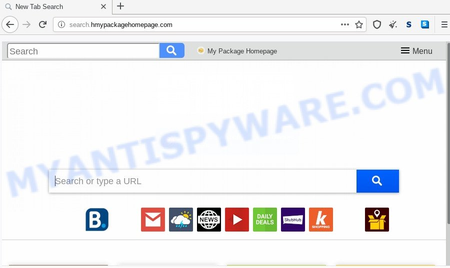 search.hmypackagehomepage.com