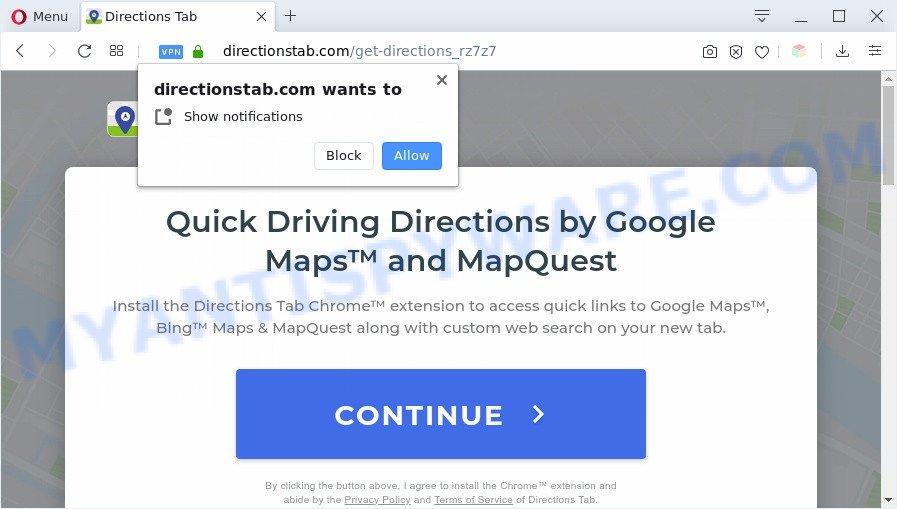 Directionstab.com