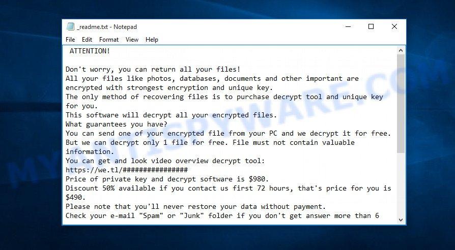 Nppp virus ransomnote