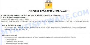 Qbix ransom demand message
