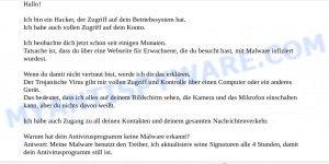 13hbXZp2aeHTcnGZy66Z1CVTLby5k7t1s4 Bitcoin Email Scam