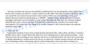 1HMsu3Dg3ocegPN2psqQtnsgZESeHVuxmN Bitcoin Email Scam