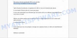 1HzcdATNijocXR4B8BKXSTsMSvxEvqXqNE Bitcoin Email Scam