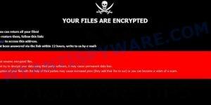 Mark ransomware virus