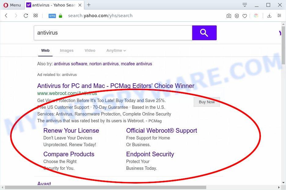 PDF Opener search ads