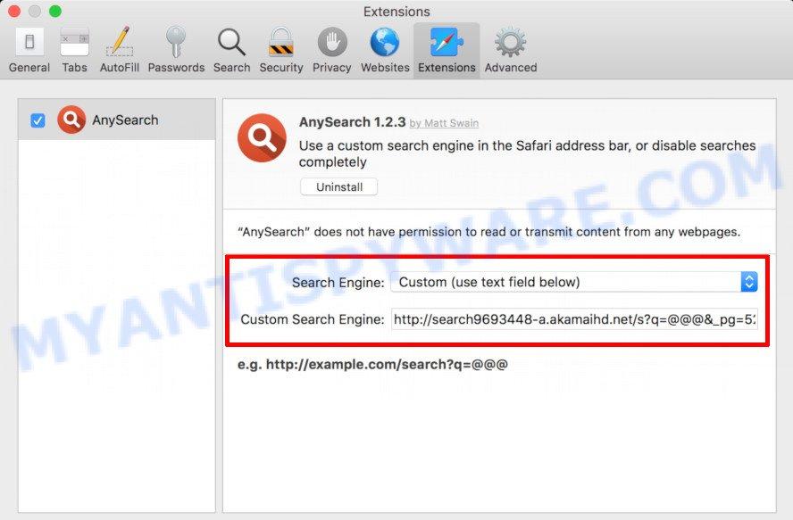 Safari affected by akamaihd.net virus