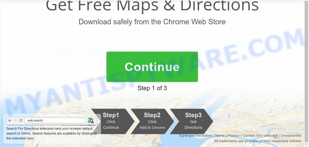 Search For Directions install