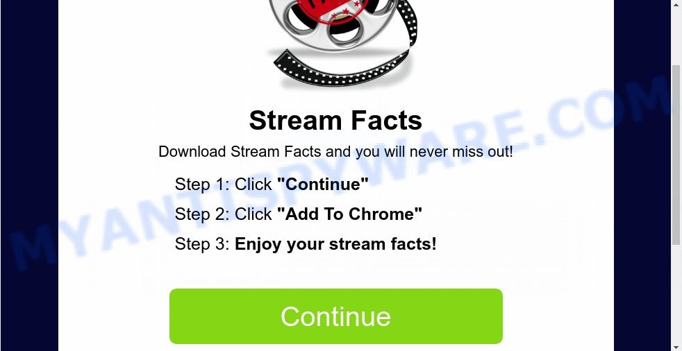 Search.streamfacts.today install