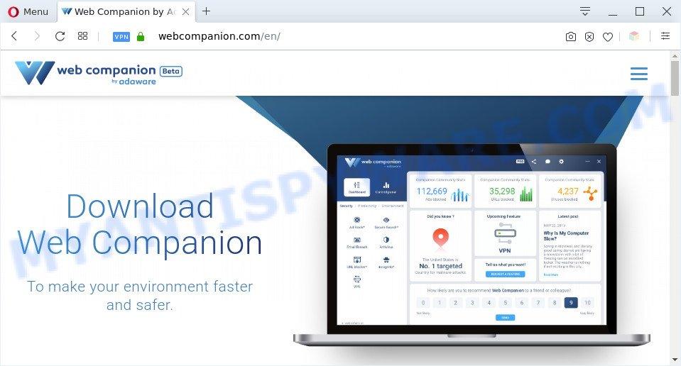 Adaware Web Companion