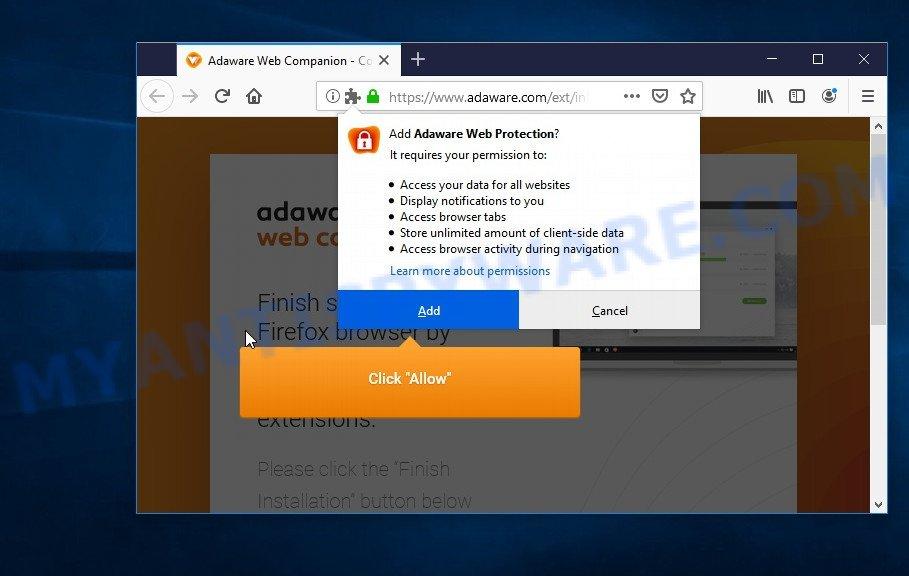 Adaware Web Protection