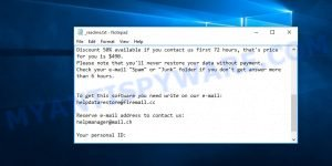 Helpmanager@mail.ch ransomware