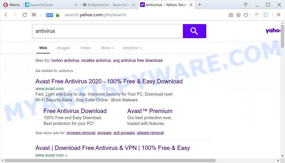 SearchZone ads