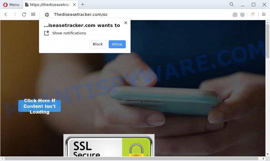 Thediseasetracker.com
