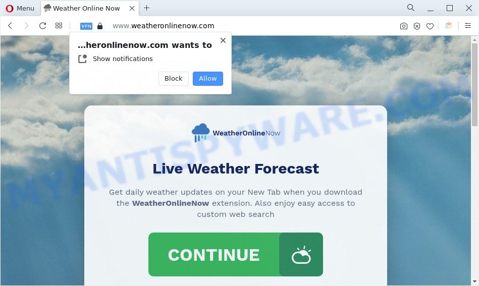 Weatheronlinenow.com