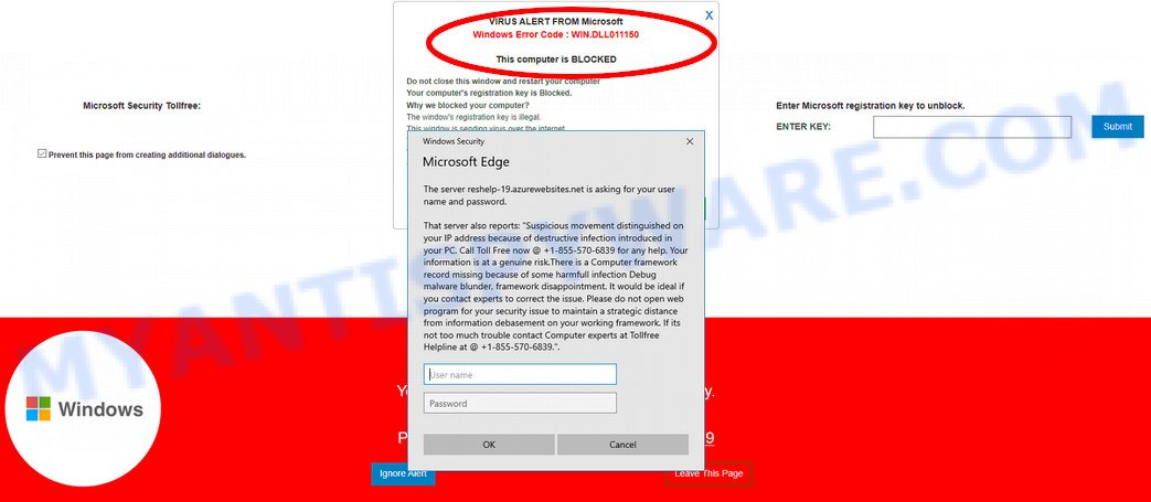 Windows Error Code WIN.DLL01150