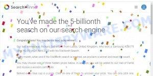 search winner scam