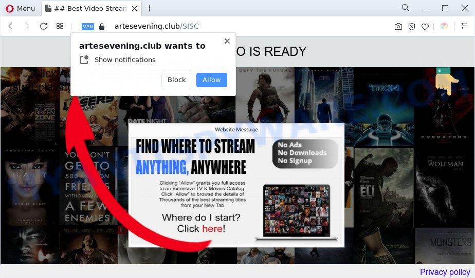Artesevening.club