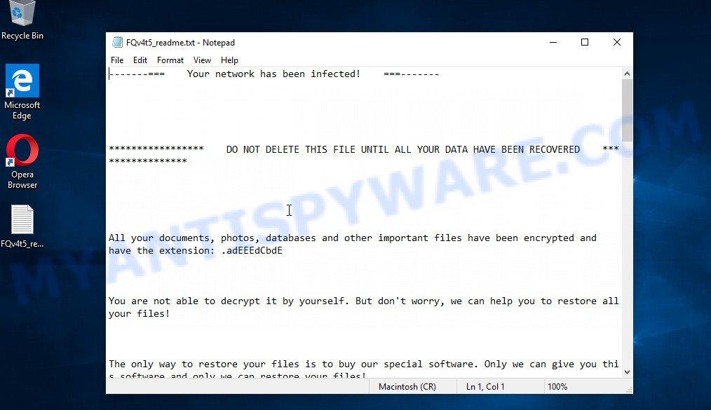 Avaddon ransomware new