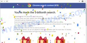 Chrome search contest 2020