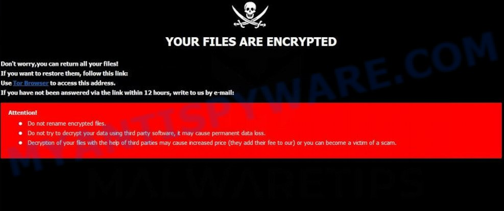 Club ransomware virus