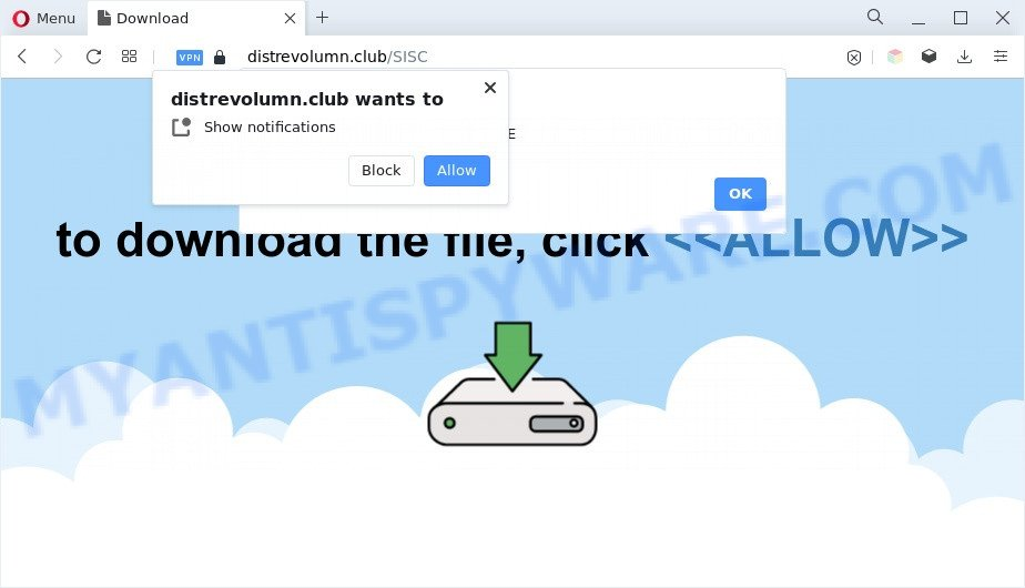 Distrevolumn.club