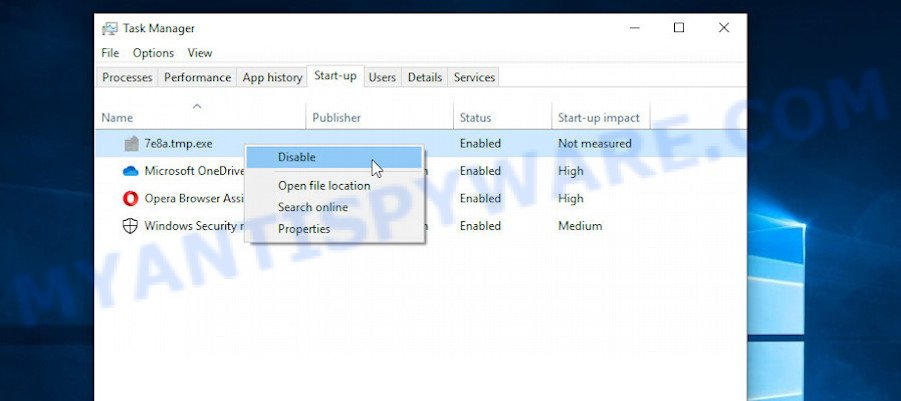 kkll ransomnote removal step 2