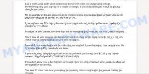 133gp7wGpKFaB2C593B2MCk2G4abYnEj9j Bitcoin Email Scam