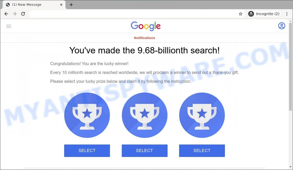 You've made the 9.68-billionth search