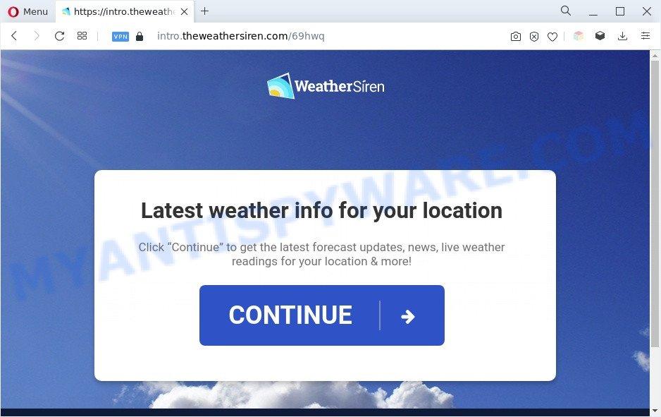 theweathersiren.com