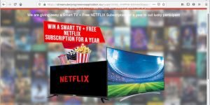FREE NETFLIX Subscription Scam