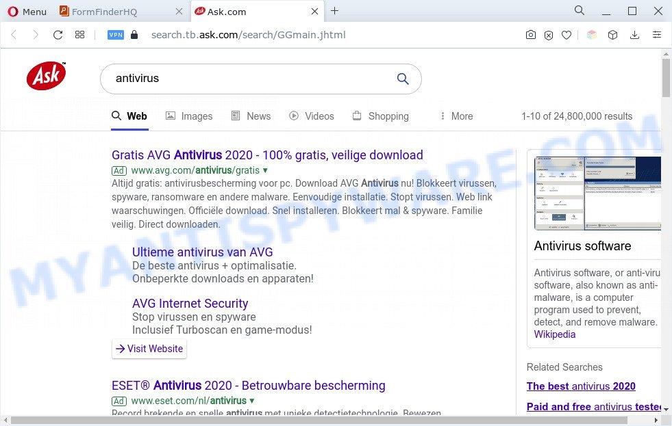 FormFinderHQ ads