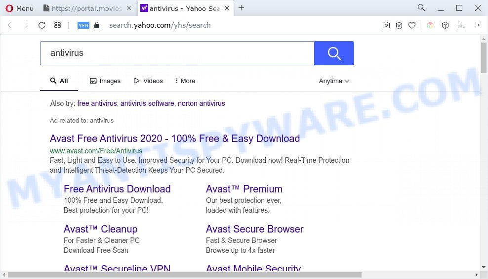 Movies Searcher ads