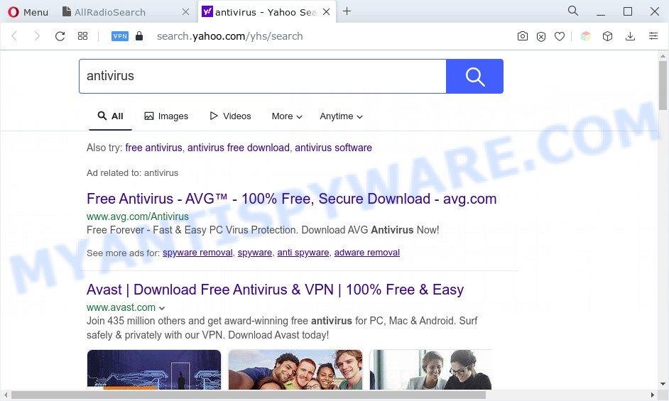 AllRadioSearch ads