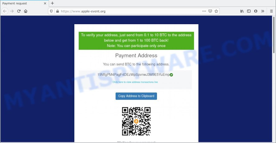Double Your Bitcoins scam