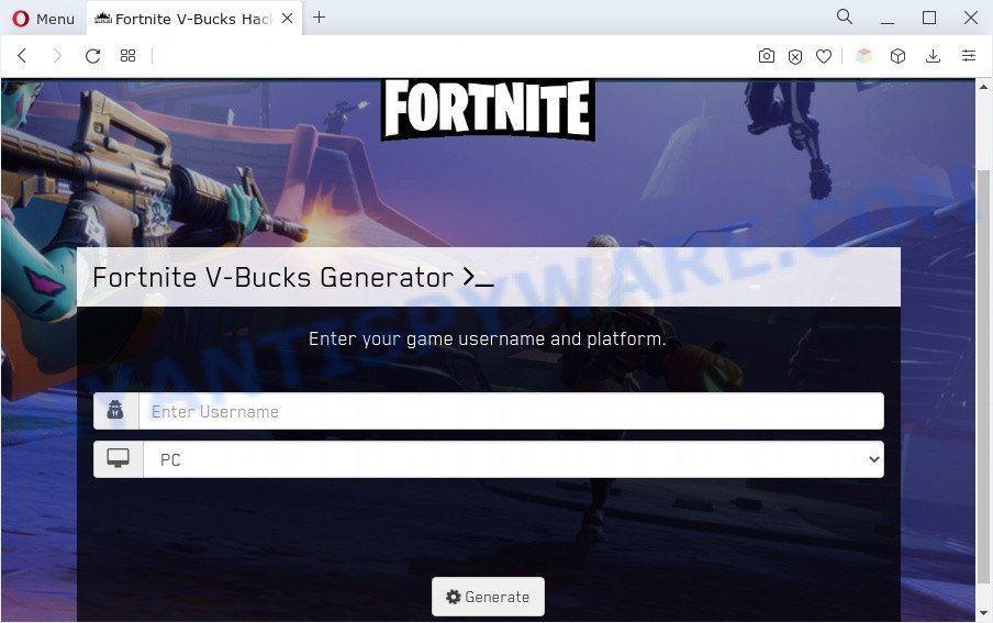 Fortnite Hack Generator