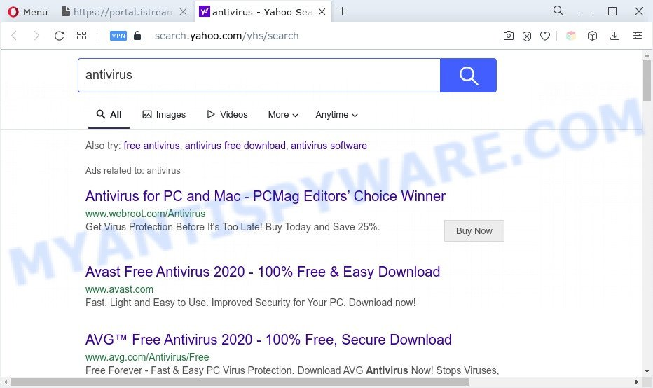 IStreamSearch ads