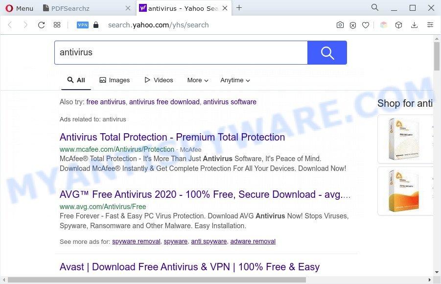 PDFSearchz ads