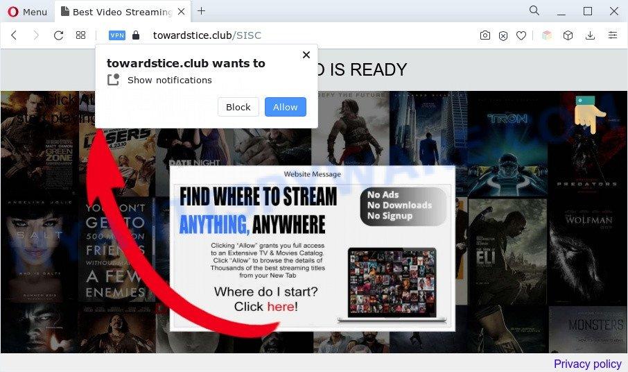 Towardstice.club