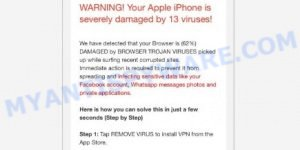 Your Apple iPhone is severely damaged
