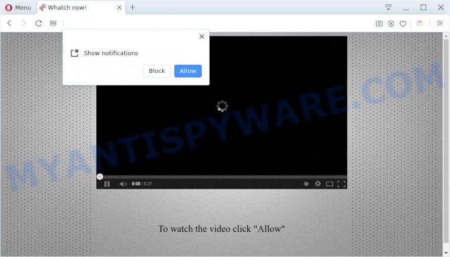 click allow popup